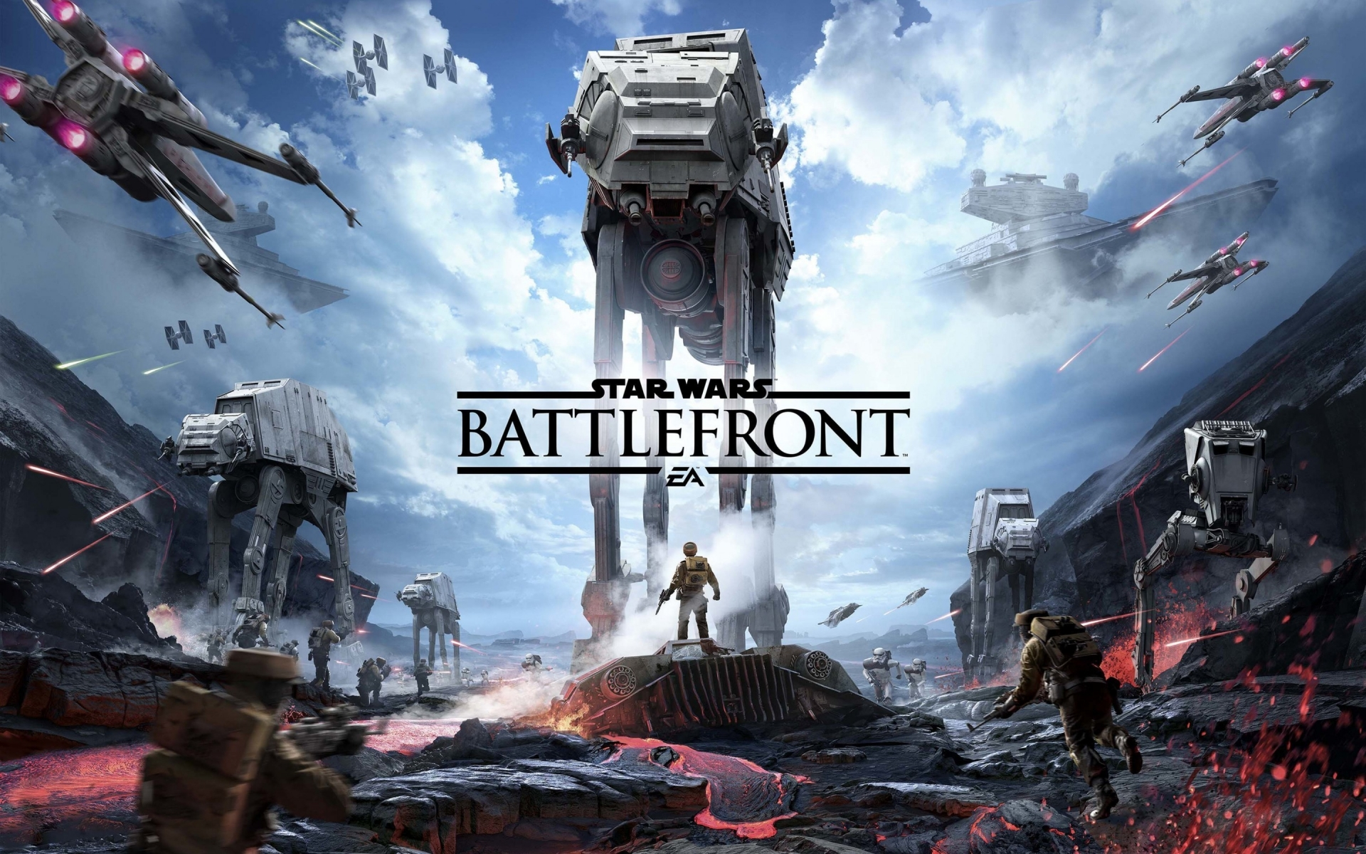 Star Wars Battlefront  for 1920 x 1200 widescreen resolution