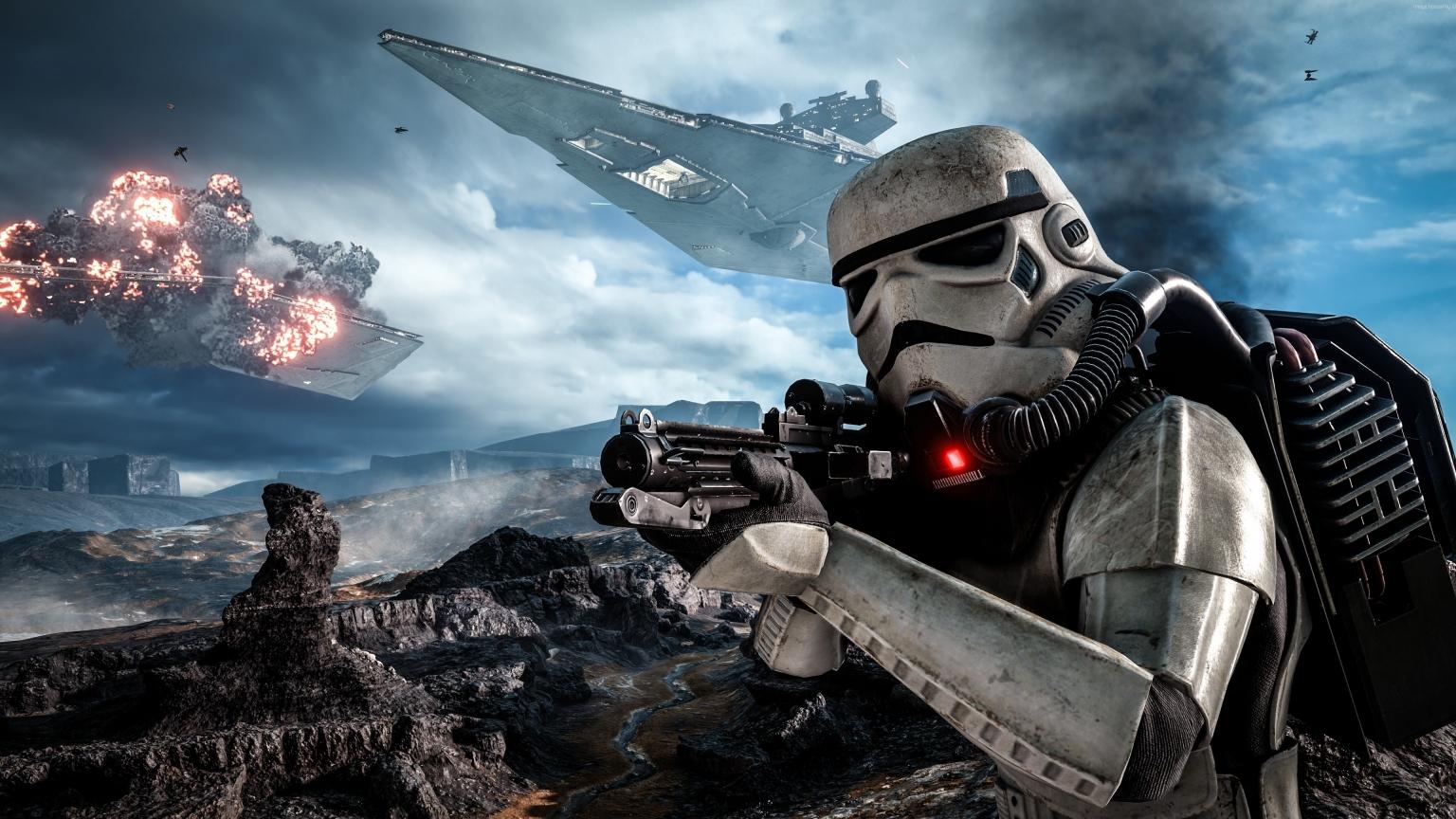 Star Wars Battlefront 2016 1536 X 864 Hdtv Wallpaper