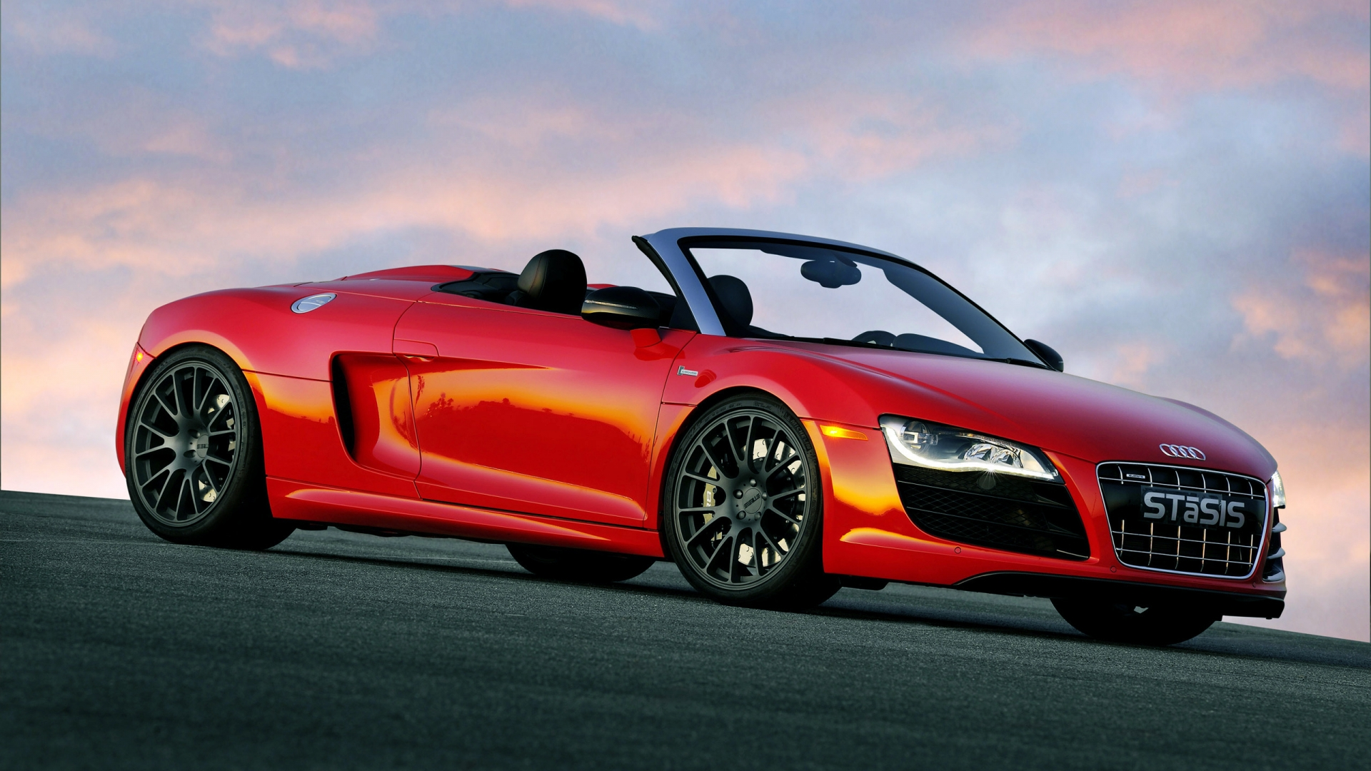 Stasis Audi R8 V10 for 1920 x 1080 HDTV 1080p resolution