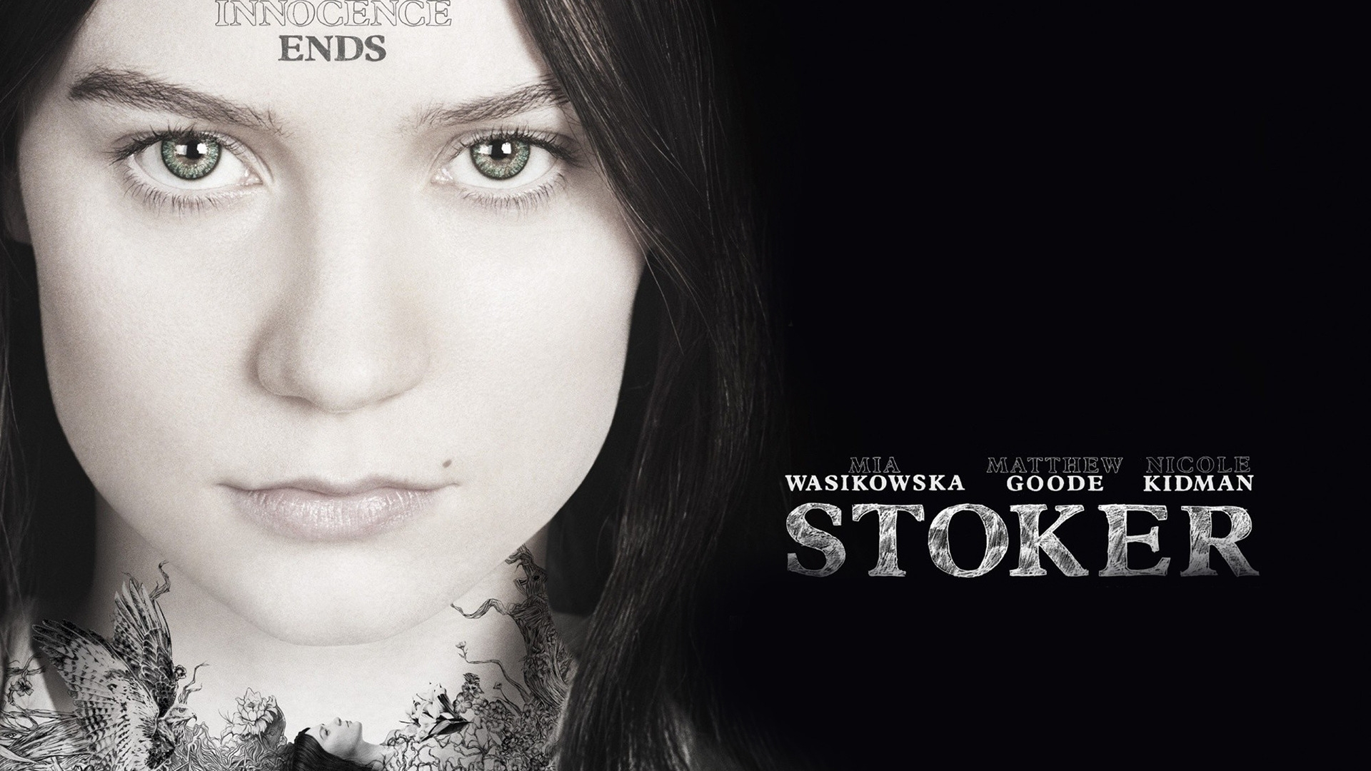 Stoker for 1920 x 1080 HDTV 1080p resolution