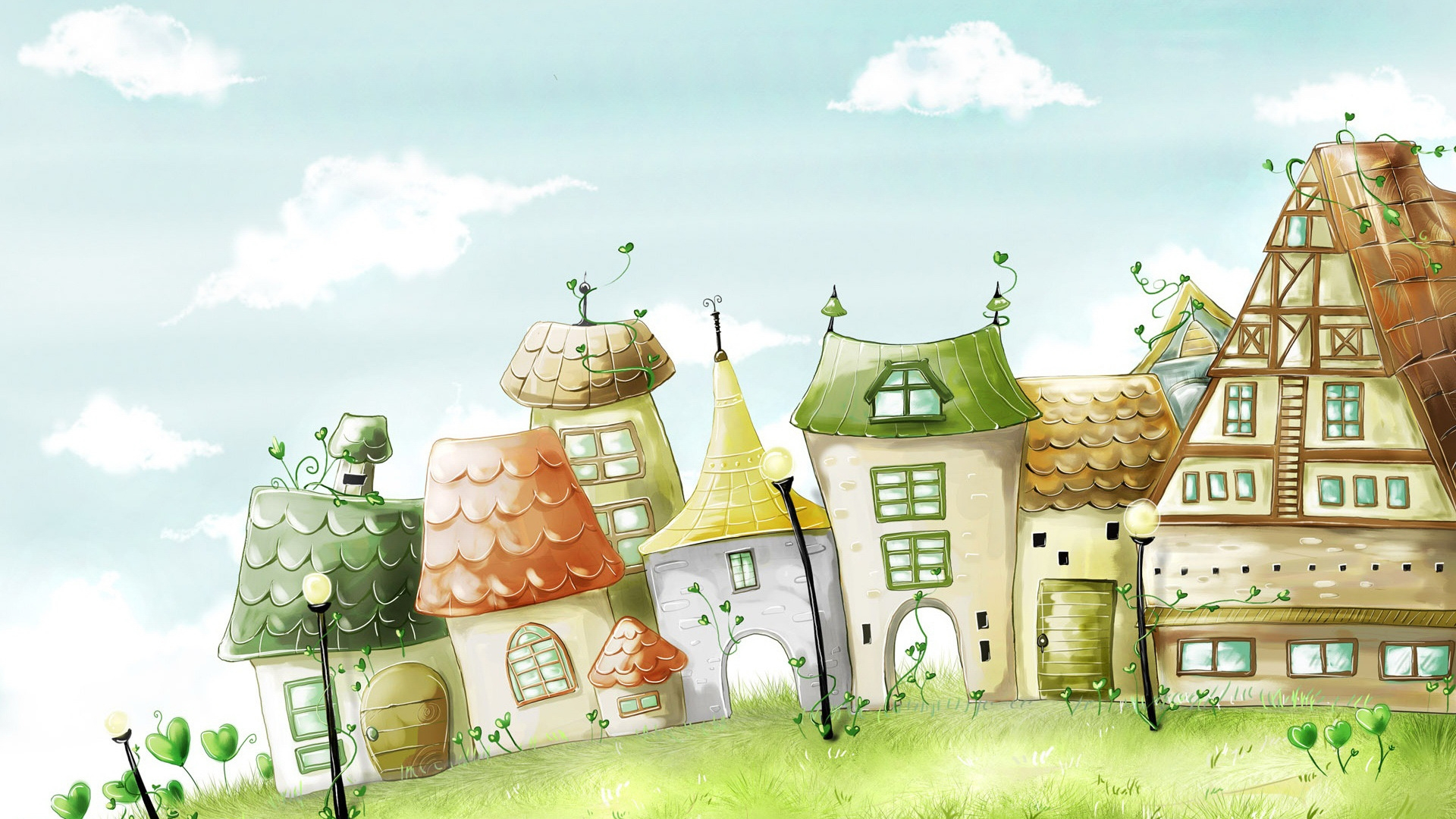 Story House for 1920 x 1080 HDTV 1080p resolution