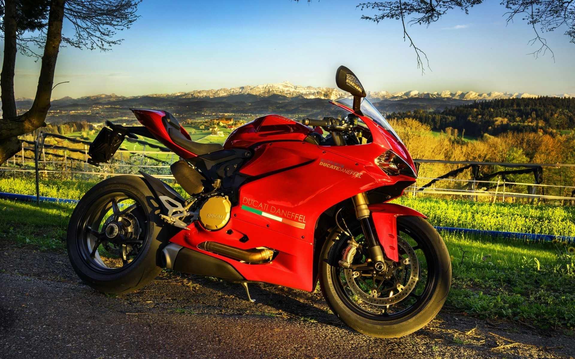 Stunning Red Ducati  for 1920 x 1200 widescreen resolution