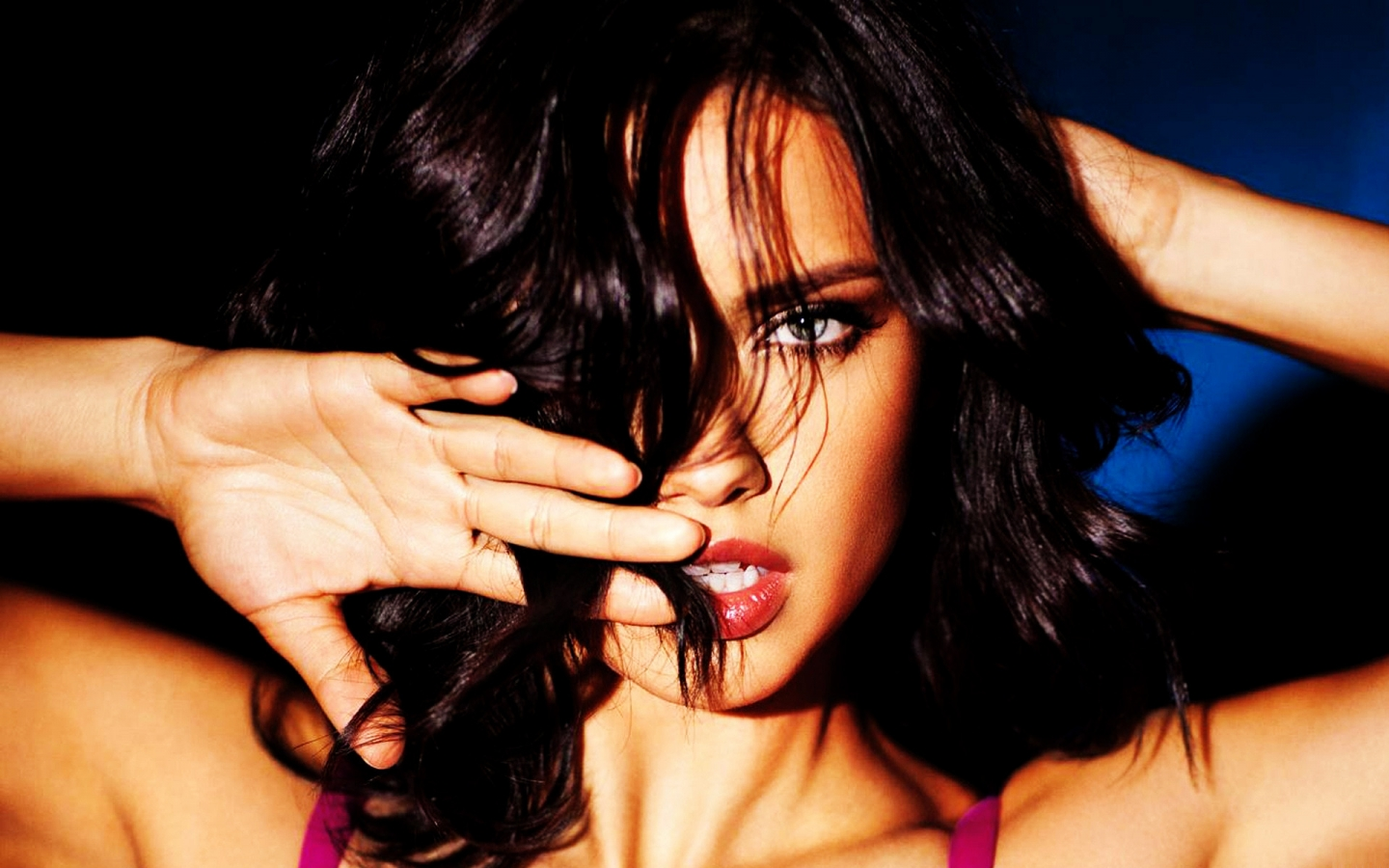 Superb Adriana Lima for 1440 x 900 widescreen resolution