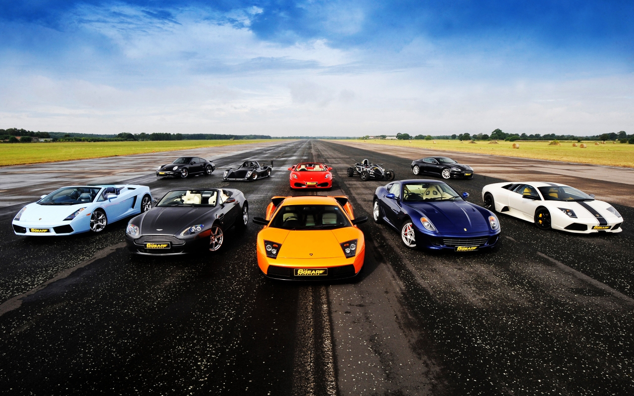Supercars for 1280 x 800 widescreen resolution