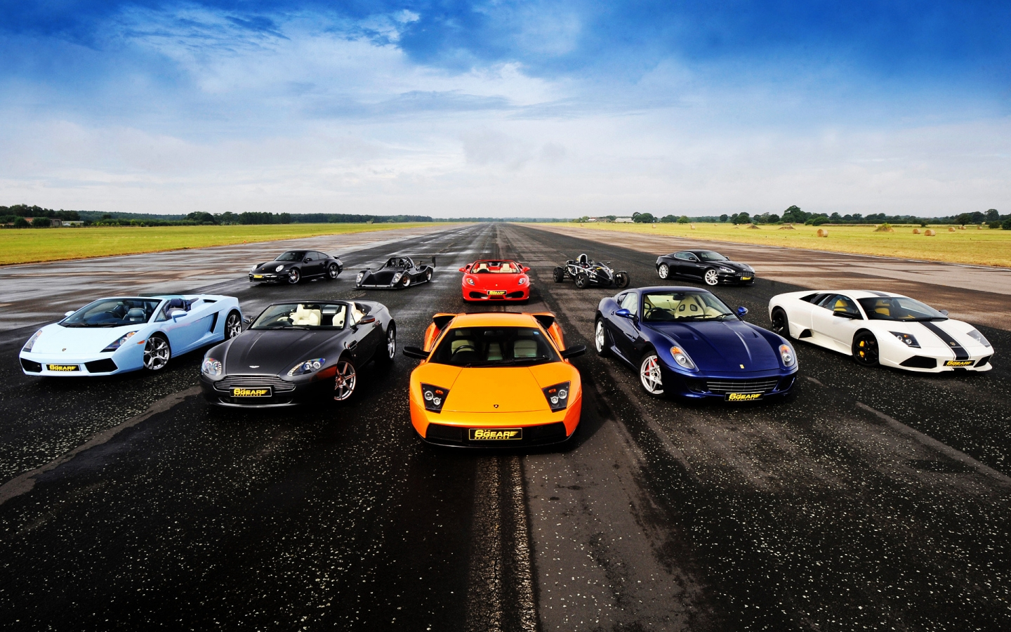 Supercars for 1440 x 900 widescreen resolution