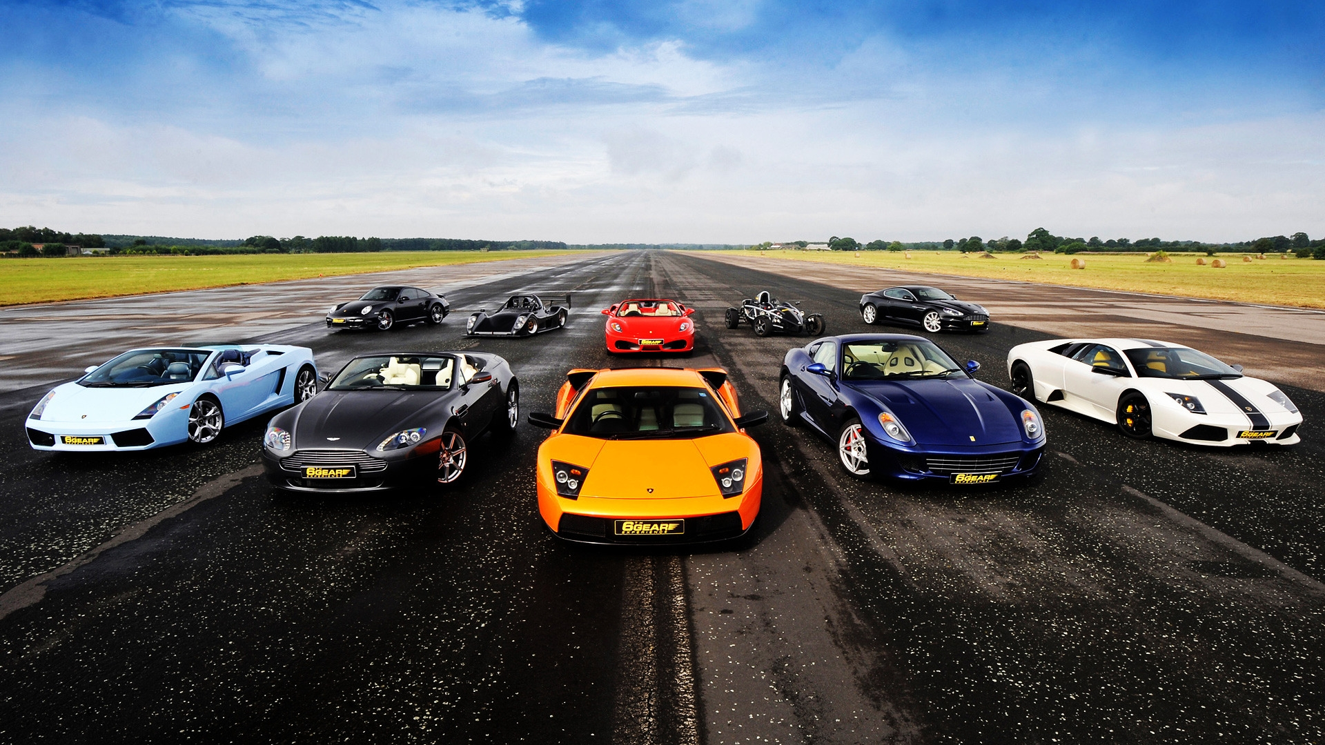Supercars for 1920 x 1080 HDTV 1080p resolution