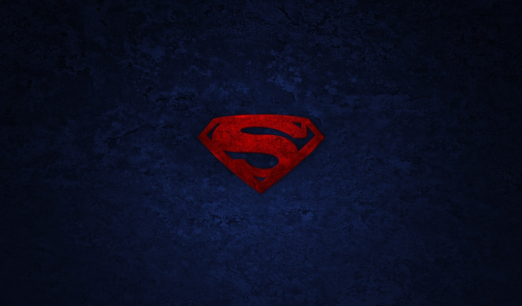 Superman Logo for 1024 x 600 widescreen resolution