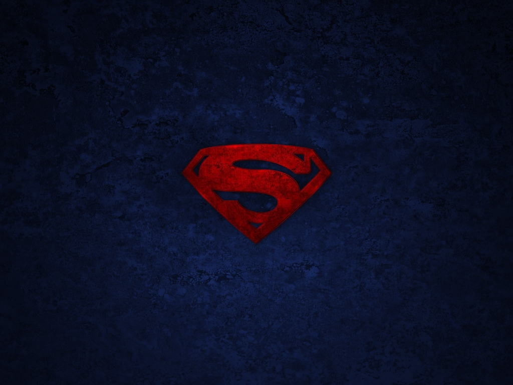 Superman Logo for 1024 x 768 resolution