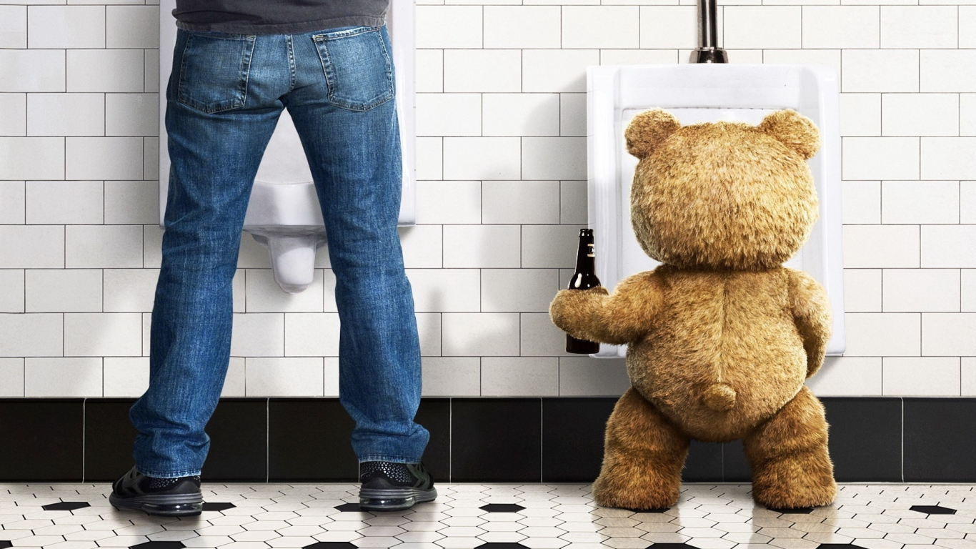 Ted Movie for 1366 x 768 HDTV resolution