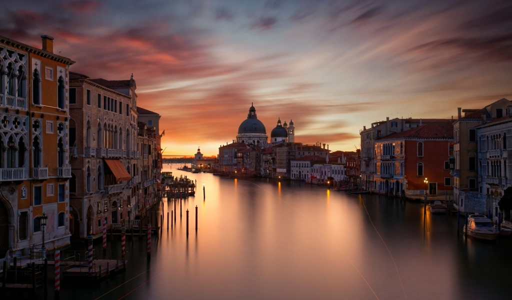 The Grand Canal Venice for 1024 x 600 widescreen resolution