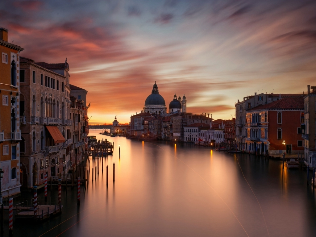 The Grand Canal Venice for 1024 x 768 resolution