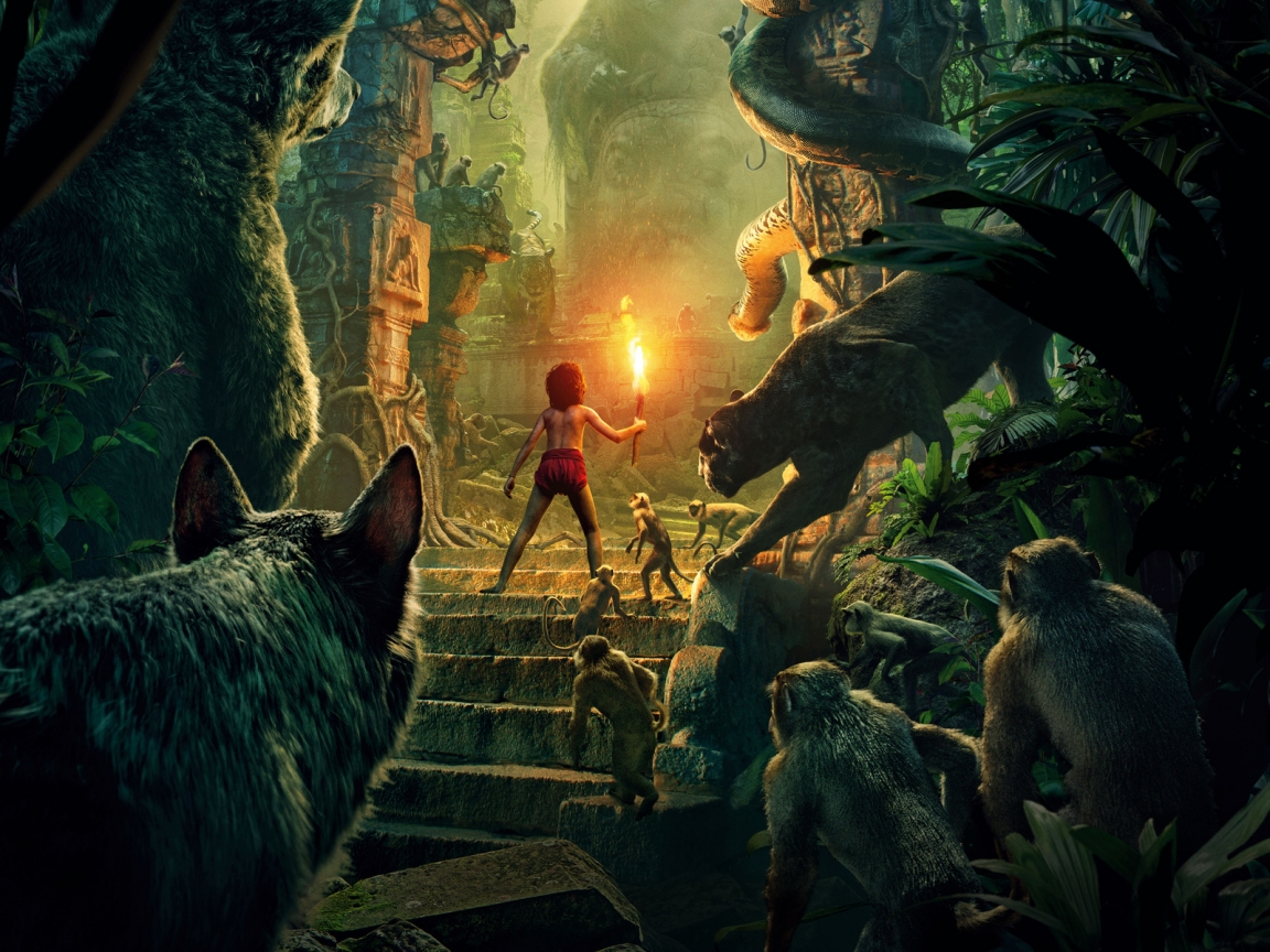 The Jungle Book 2016 for 1152 x 864 resolution