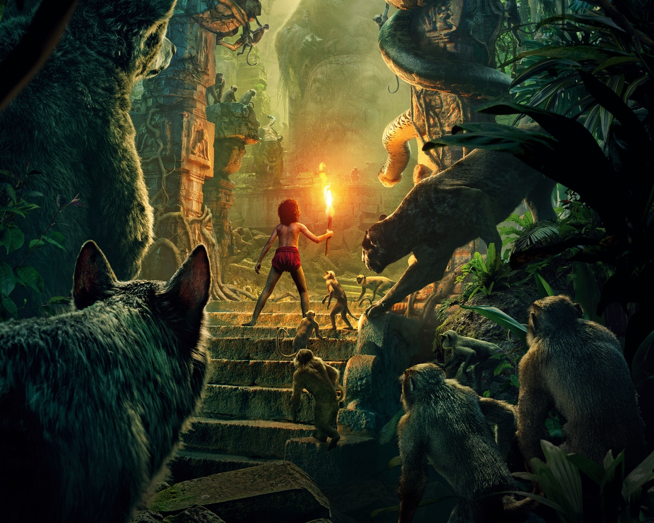 The Jungle Book 2016 for 1280 x 1024 resolution