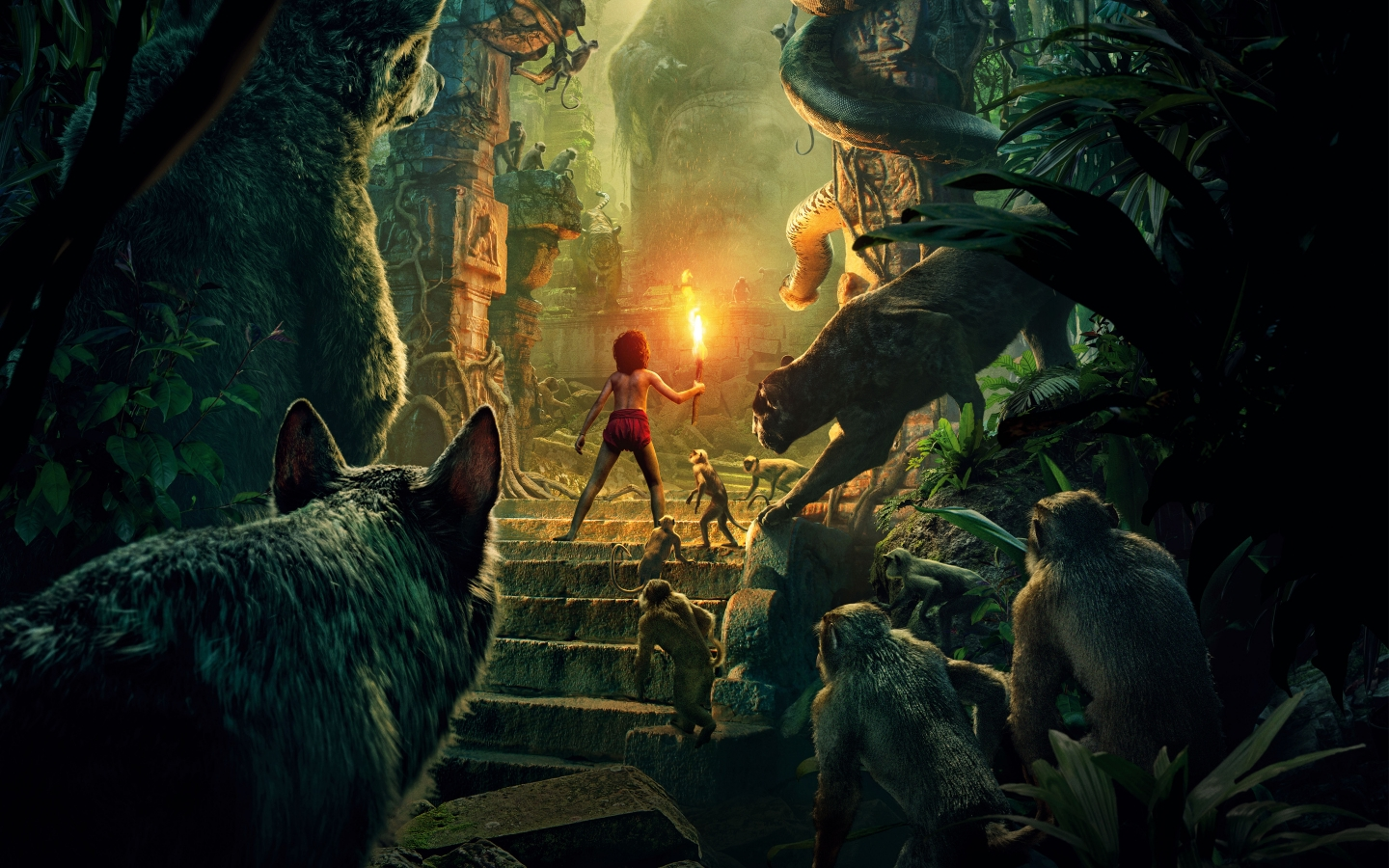 The Jungle Book 2016 for 1440 x 900 widescreen resolution