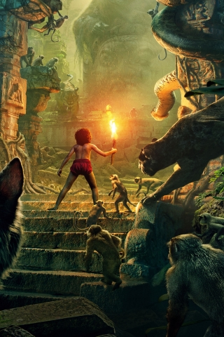 The Jungle Book 2016 for 320 x 480 iPhone resolution