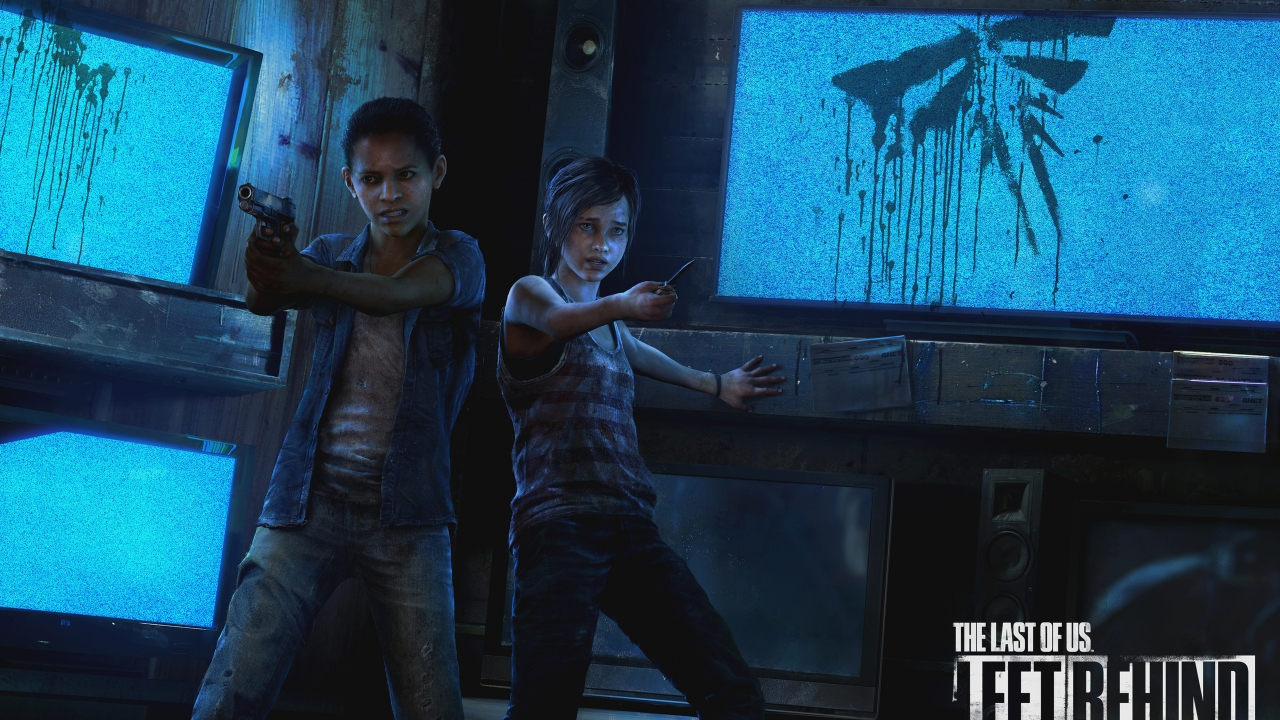 The Last Of Us Left Behind for 1280 x 720 HDTV 720p resolution