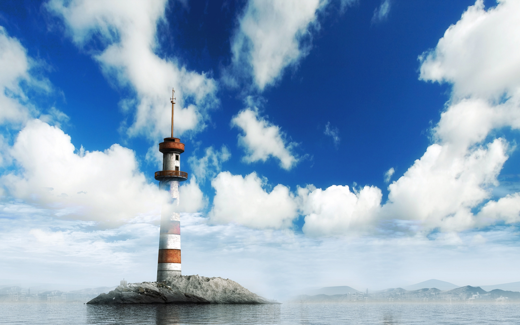 The Lighthouse for 1680 x 1050 widescreen resolution