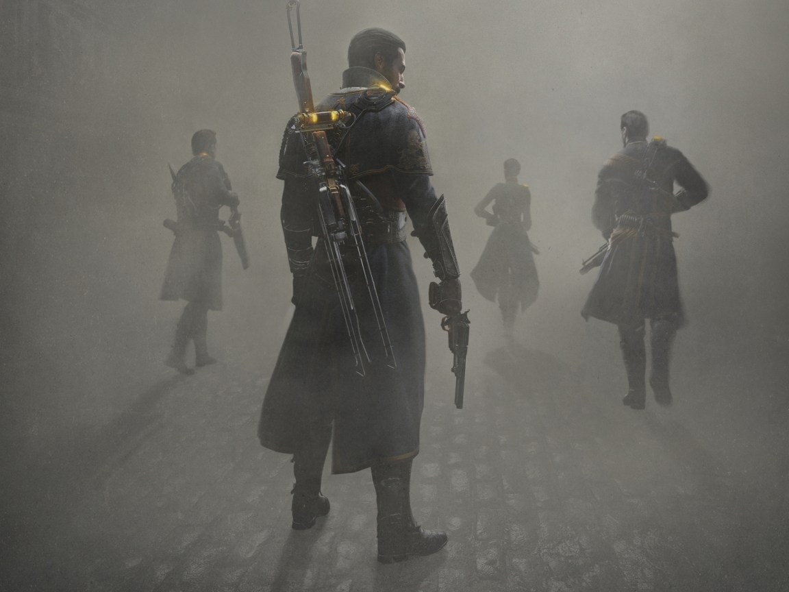 The Order 1886 for 1152 x 864 resolution