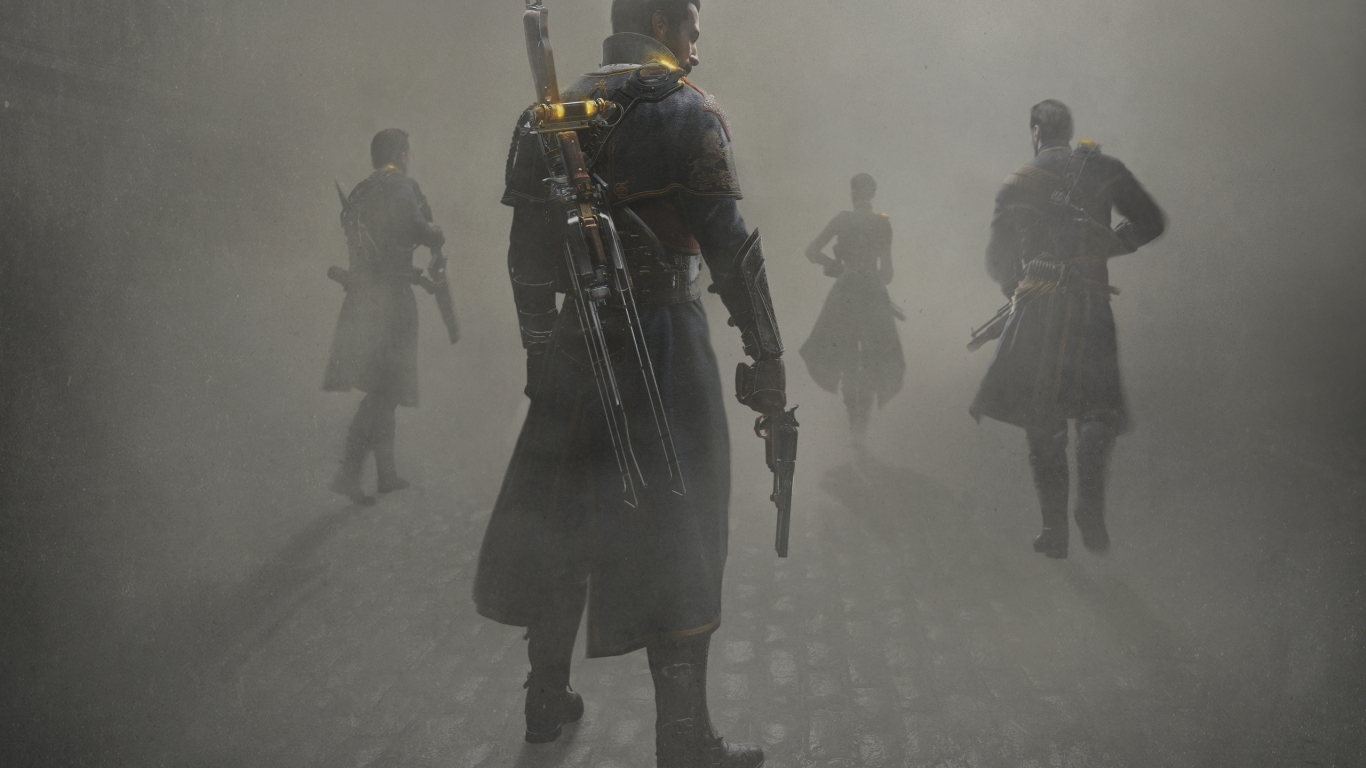 The Order 1886 for 1366 x 768 HDTV resolution
