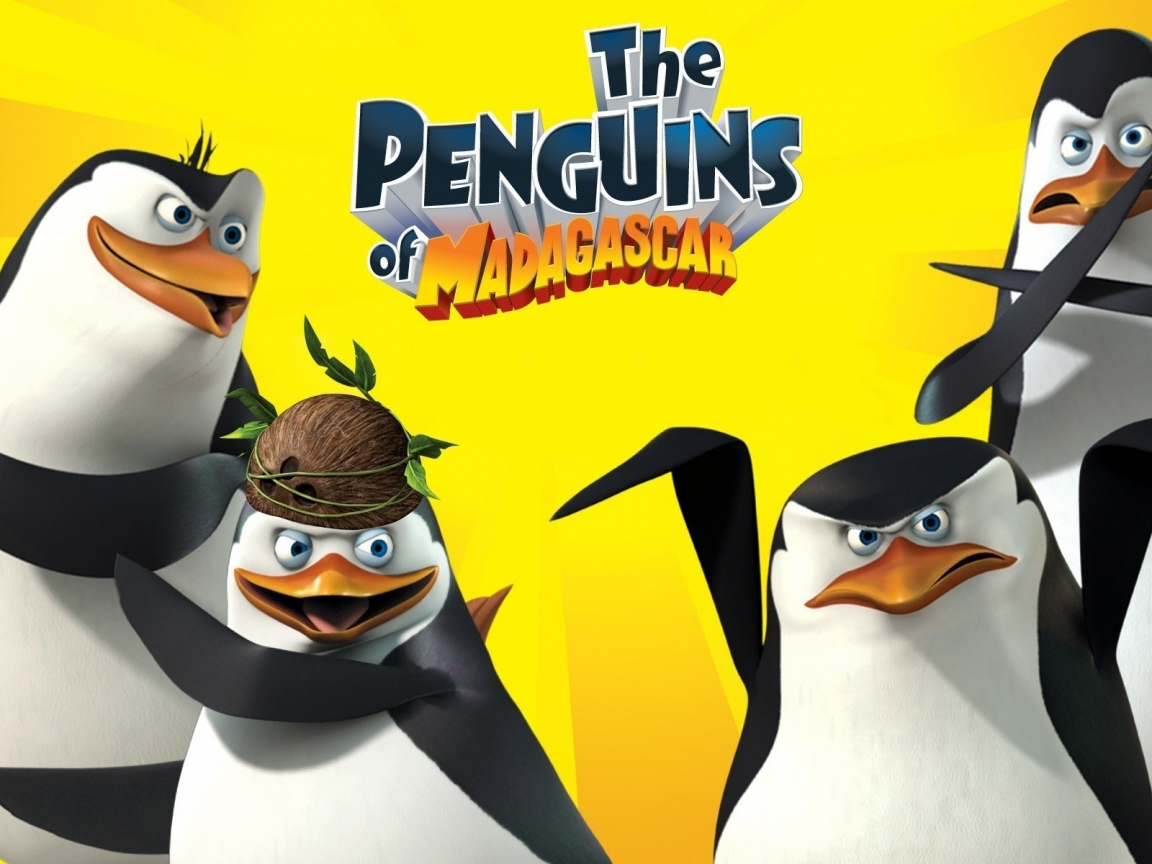 The Penguins Of Madagascar for 1152 x 864 resolution