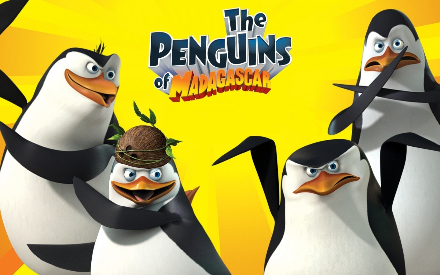 The Penguins Of Madagascar for 1440 x 900 widescreen resolution