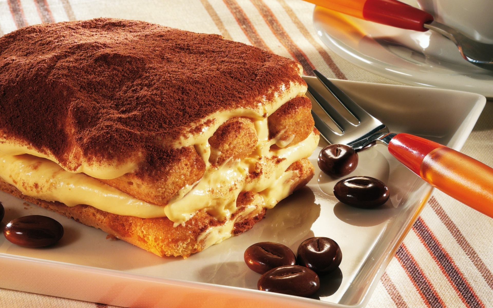 Tiramisu Cake  for 1920 x 1200 widescreen resolution
