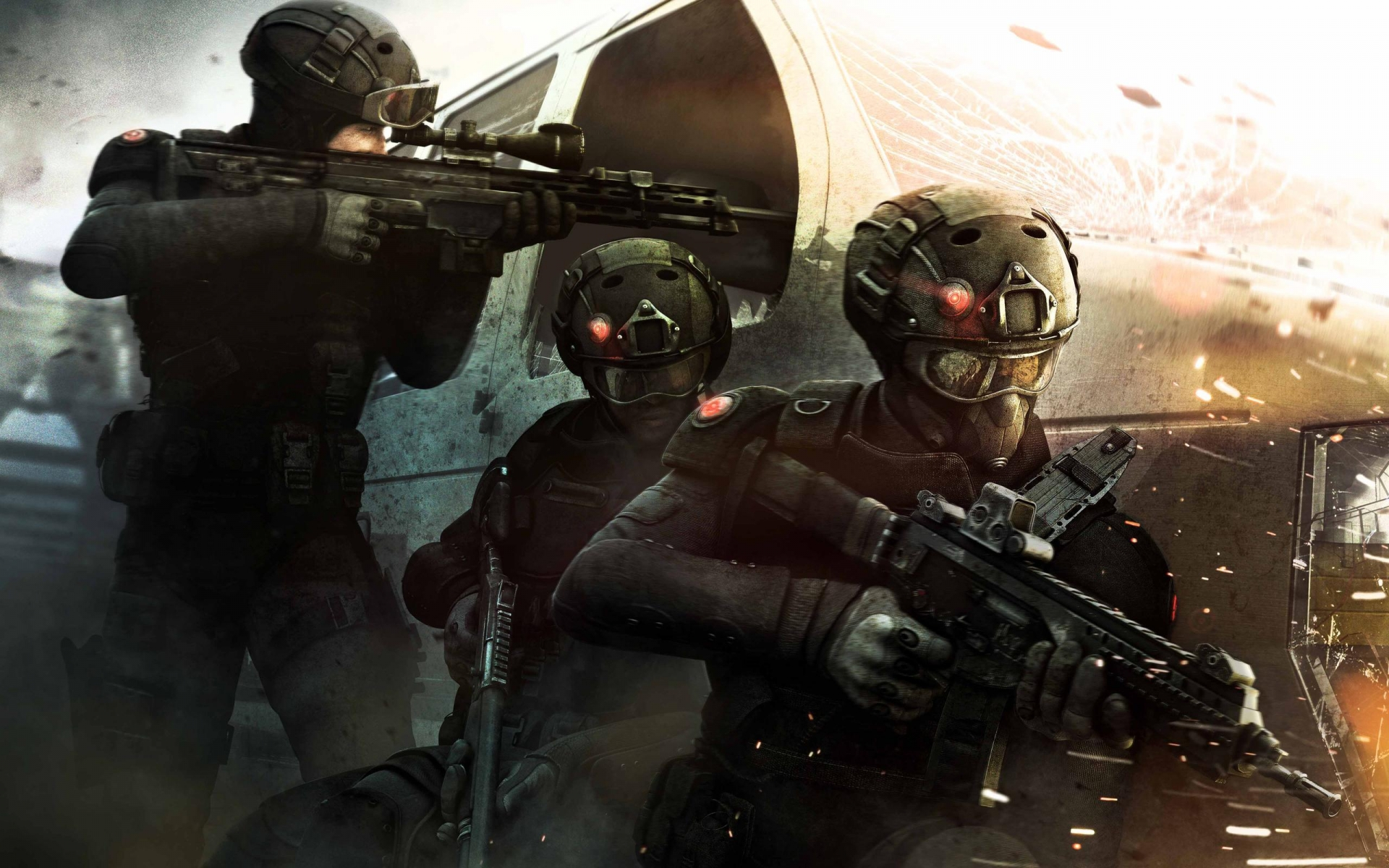 Tom Clancy's Rainbow Six Siege Patriots for 1920 x 1200 widescreen resolution