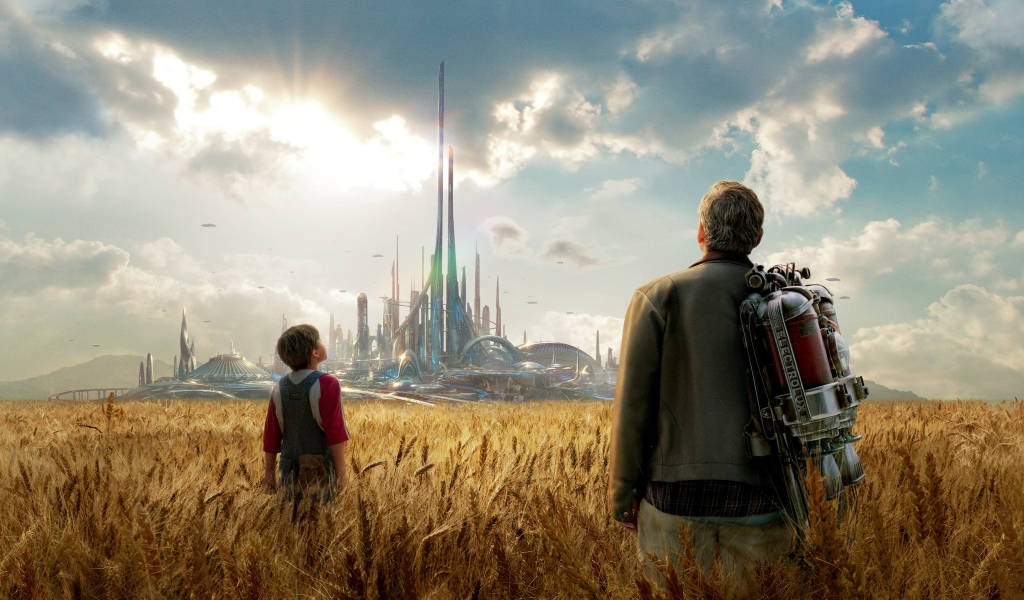 Tomorrowland Movie 2015 for 1024 x 600 widescreen resolution