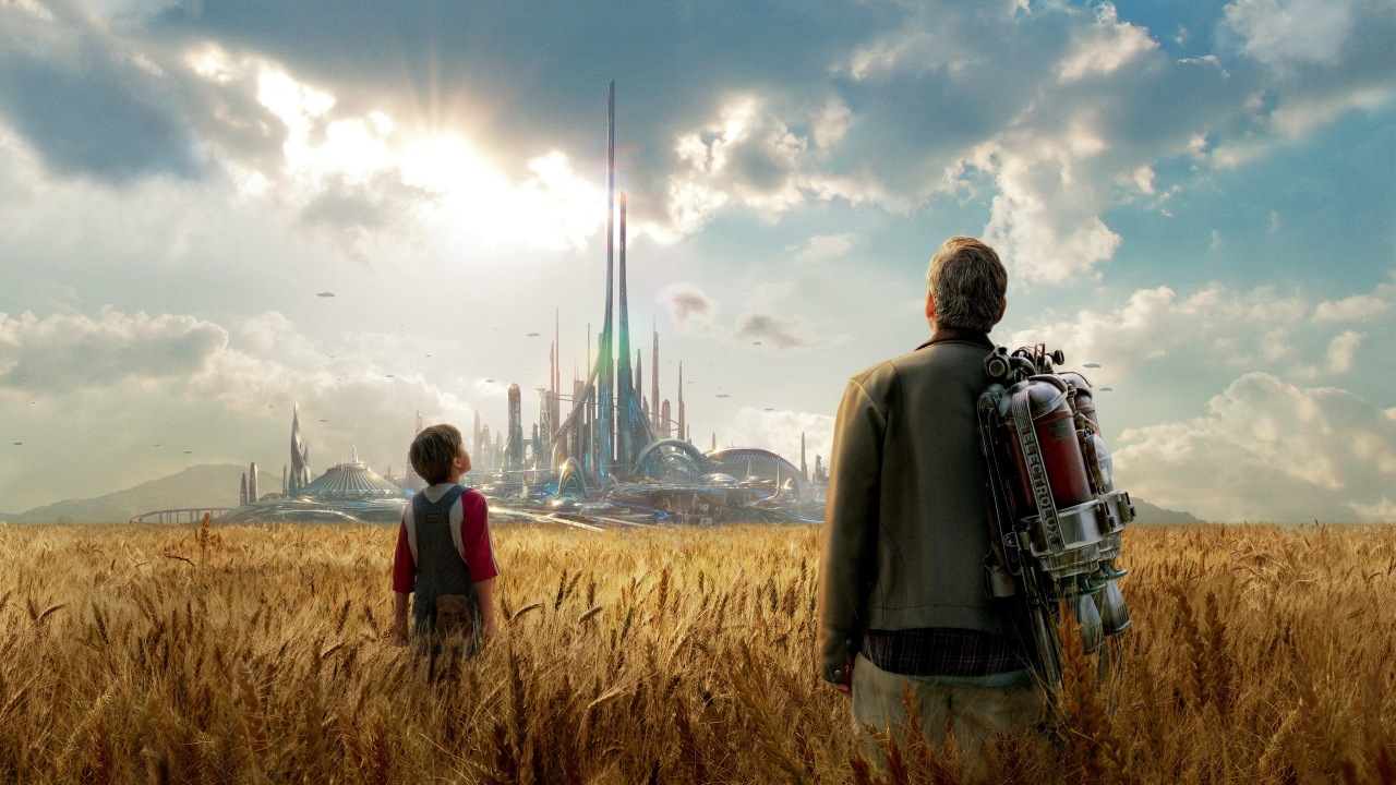 Tomorrowland Movie 2015 for 1280 x 720 HDTV 720p resolution