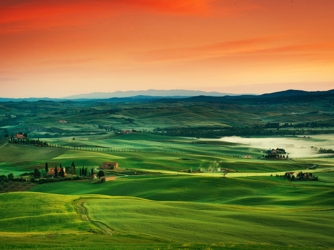 Tuscany Italy for 1152 x 864 resolution