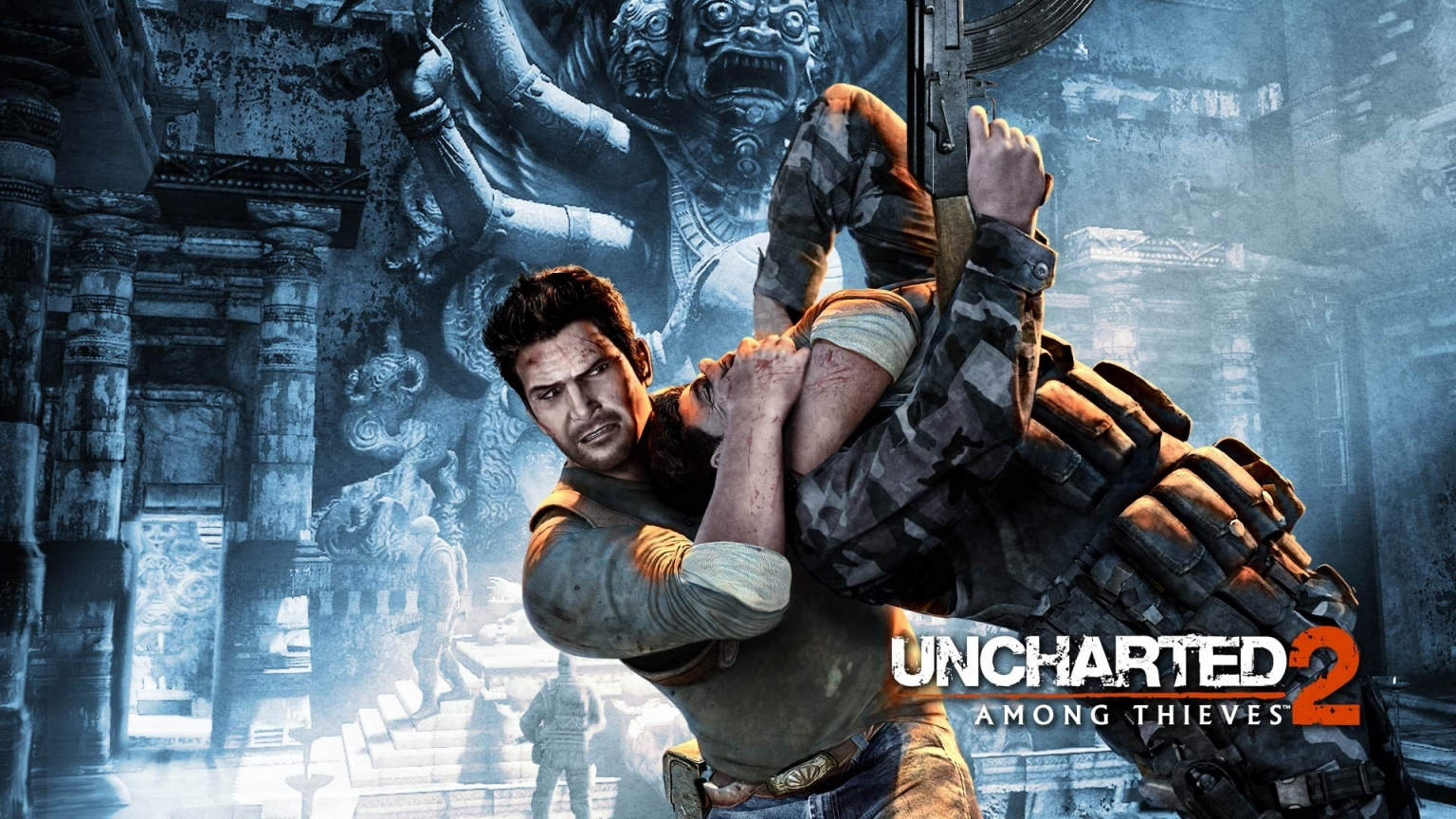 Uncharted 2: Among Thieves for 1536 x 864 HDTV resolution