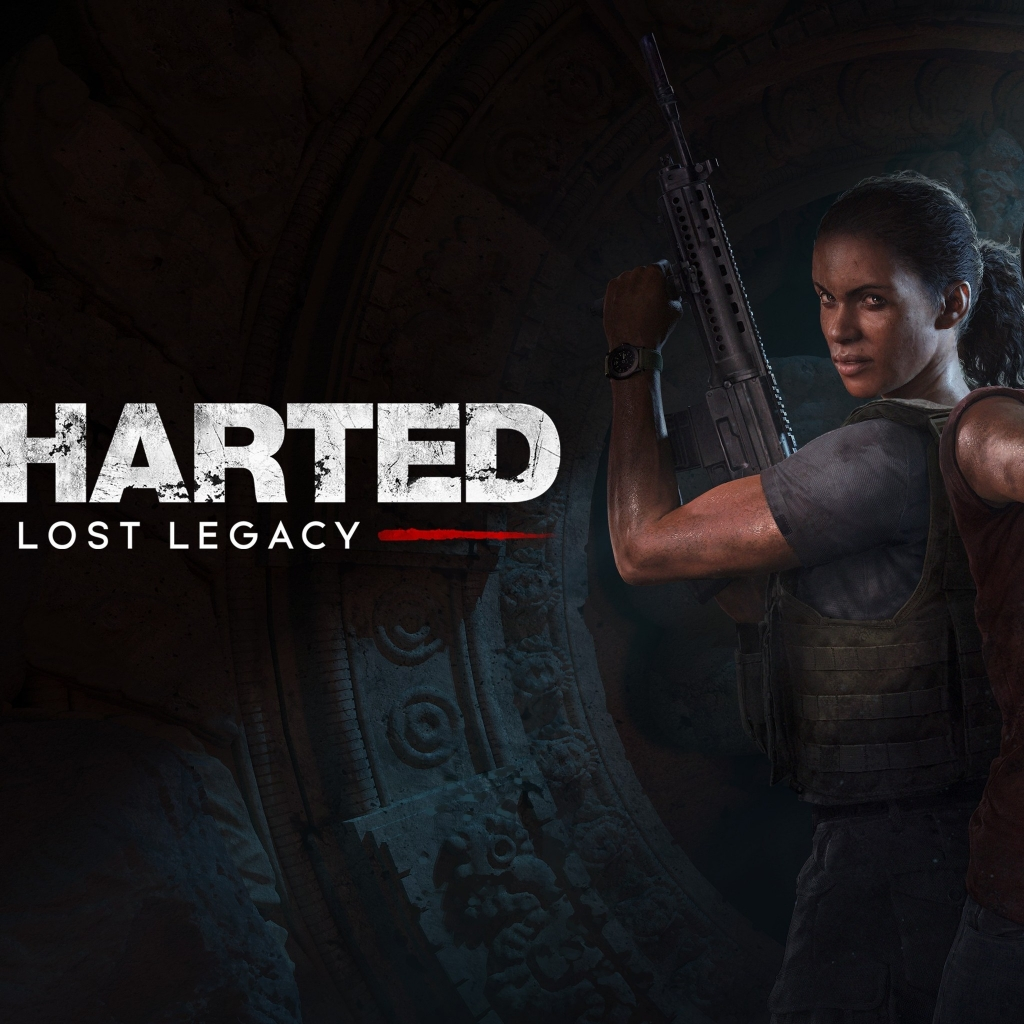 Uncharted The Lost Legacy for 1024 x 1024 iPad resolution