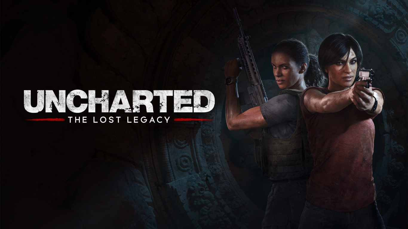 Uncharted The Lost Legacy for 1366 x 768 HDTV resolution