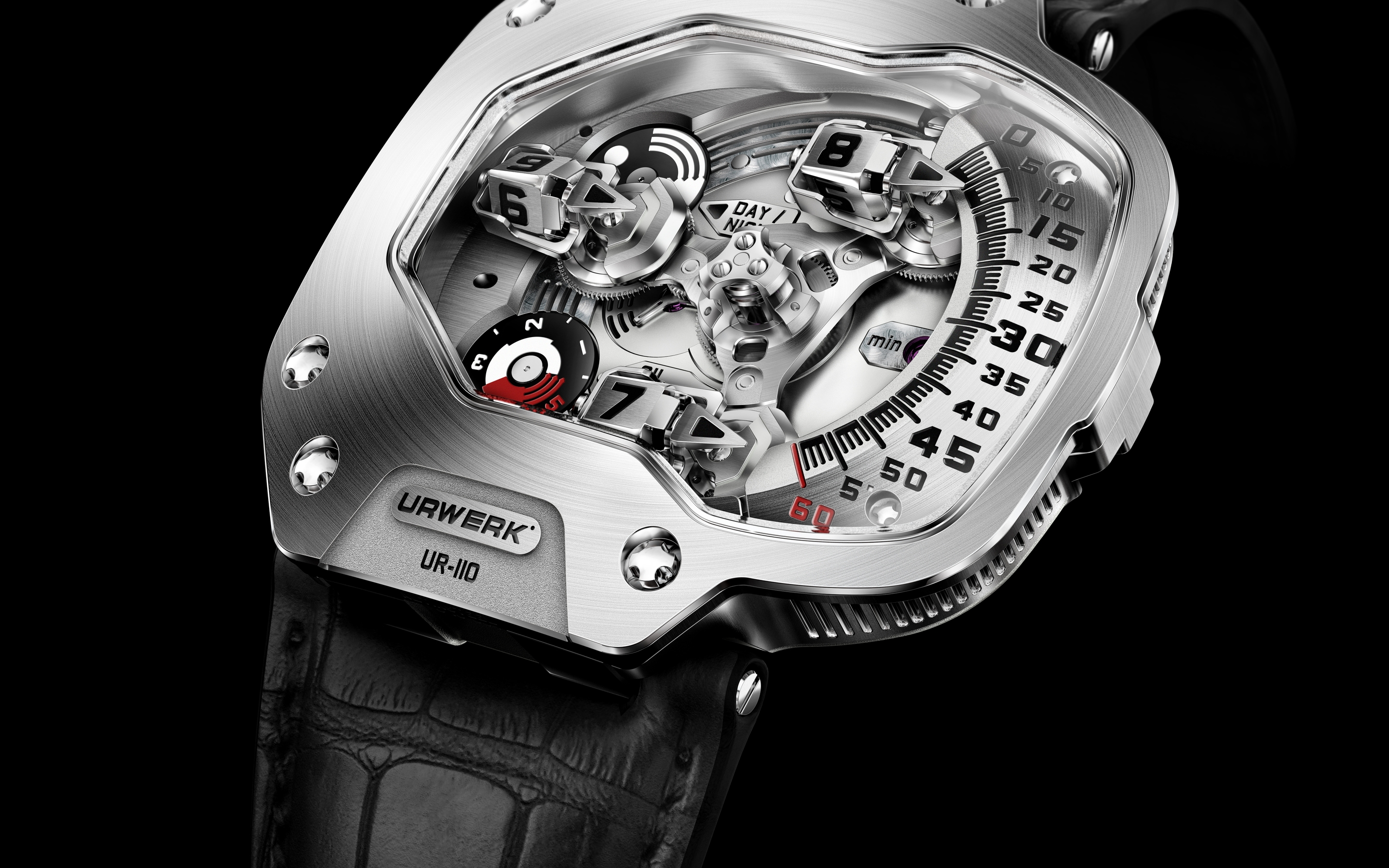 Urwerk UR 110 Watch for 2880 x 1800 Retina Display resolution