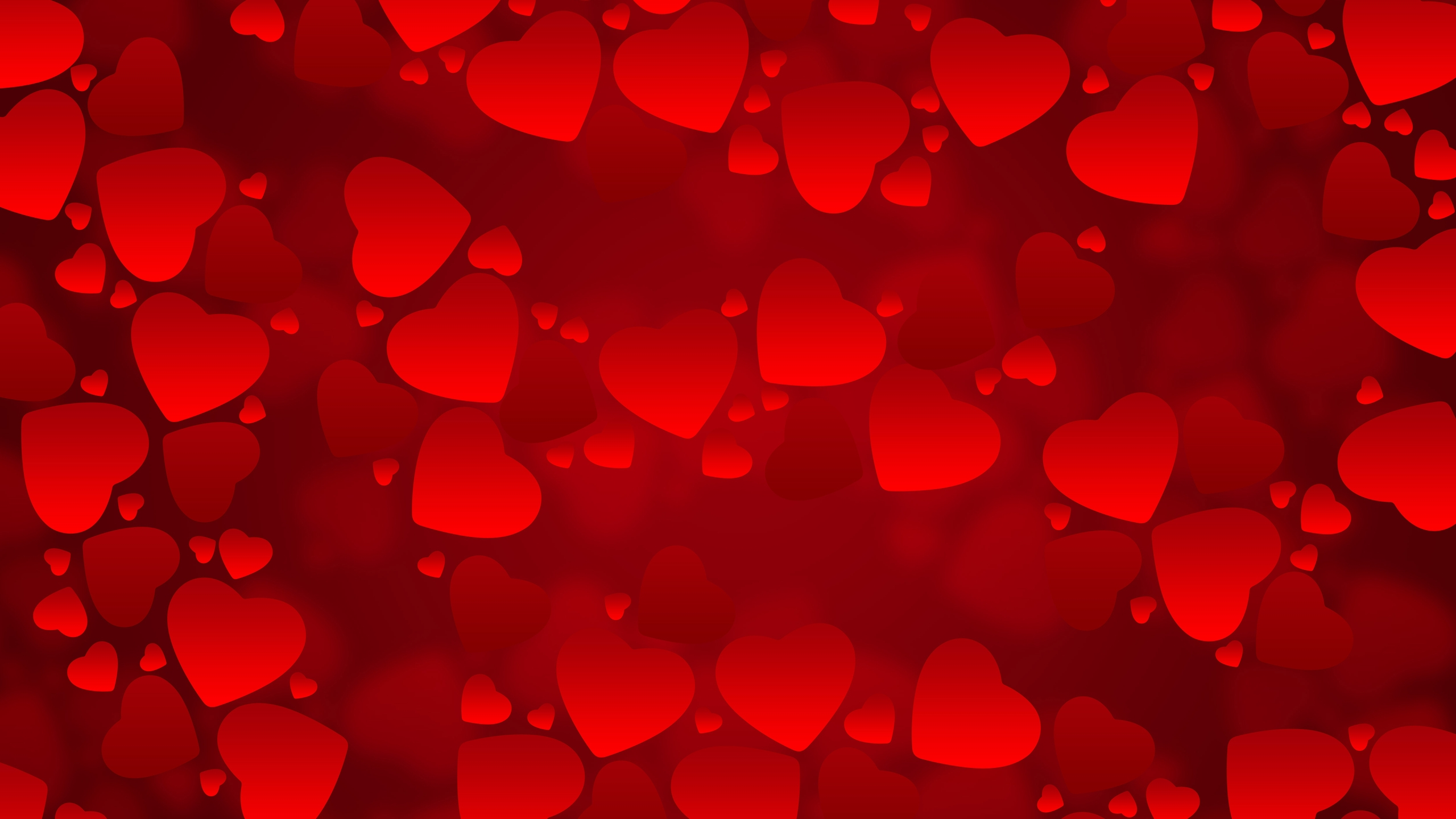 Valentines Day Background for 2560x1440 HDTV resolution
