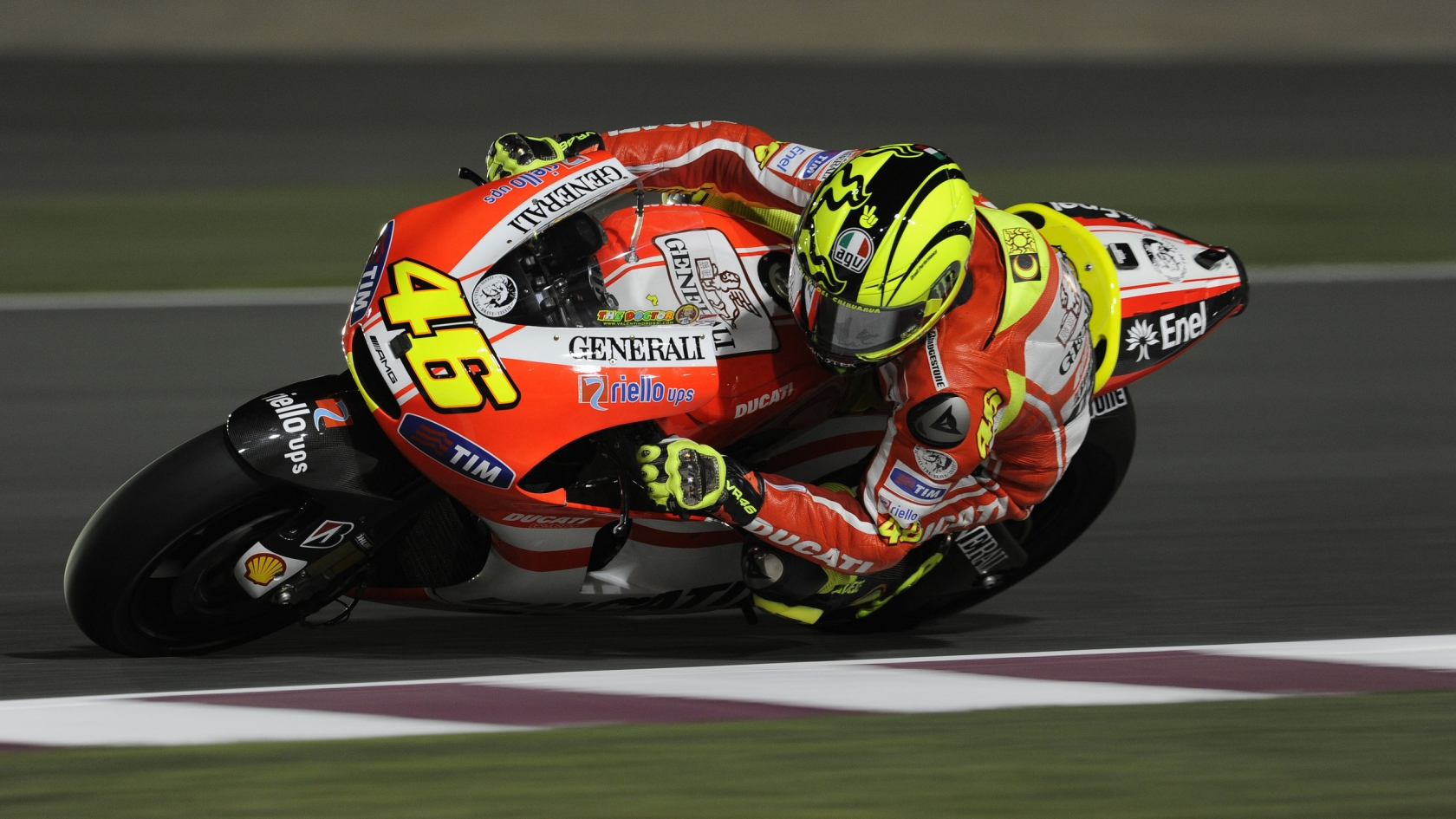 Valentino Rossi Ducati for 1680 x 945 HDTV resolution