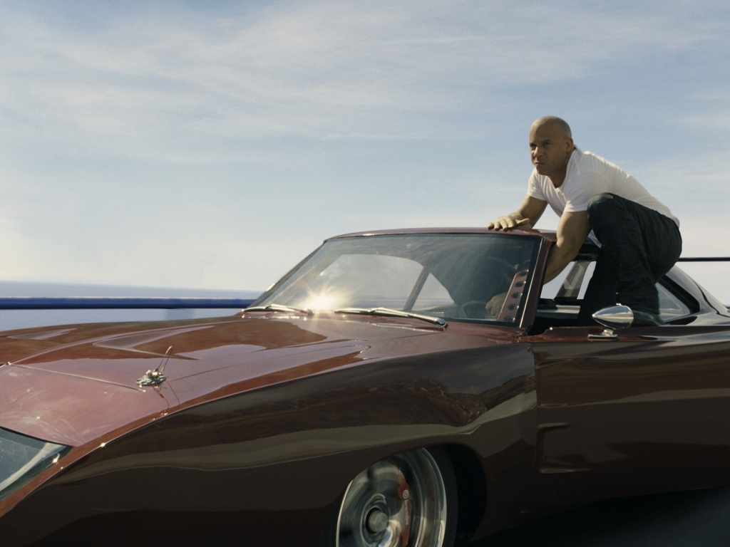 Vin Diesel in Fast and Furious for 1024 x 768 resolution