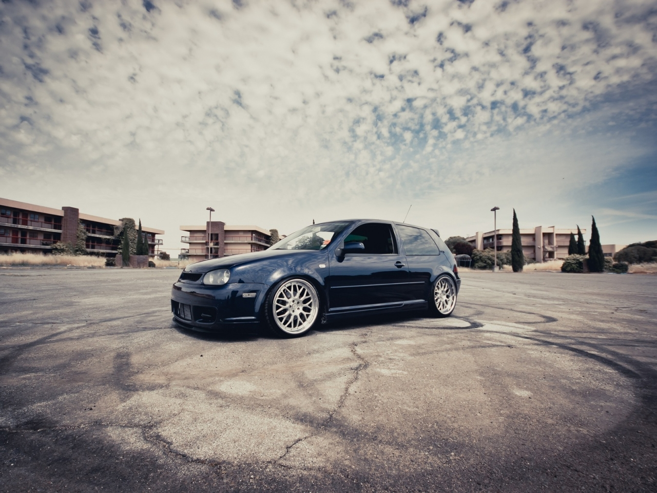 VW Golf III Coupe Tuning for 1280 x 960 resolution
