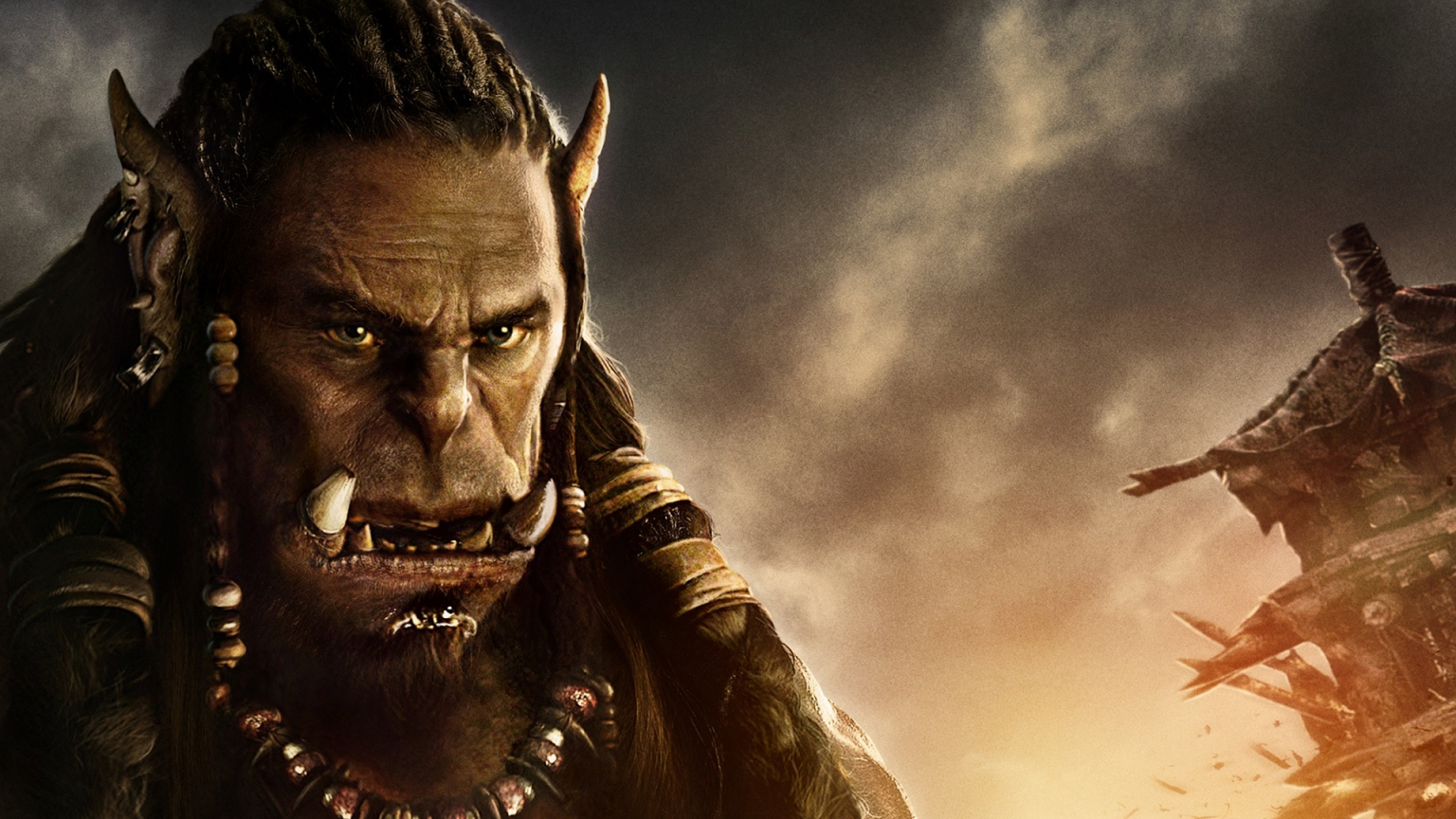 Warcraft Movie 2016 Durotan for 1536 x 864 HDTV resolution