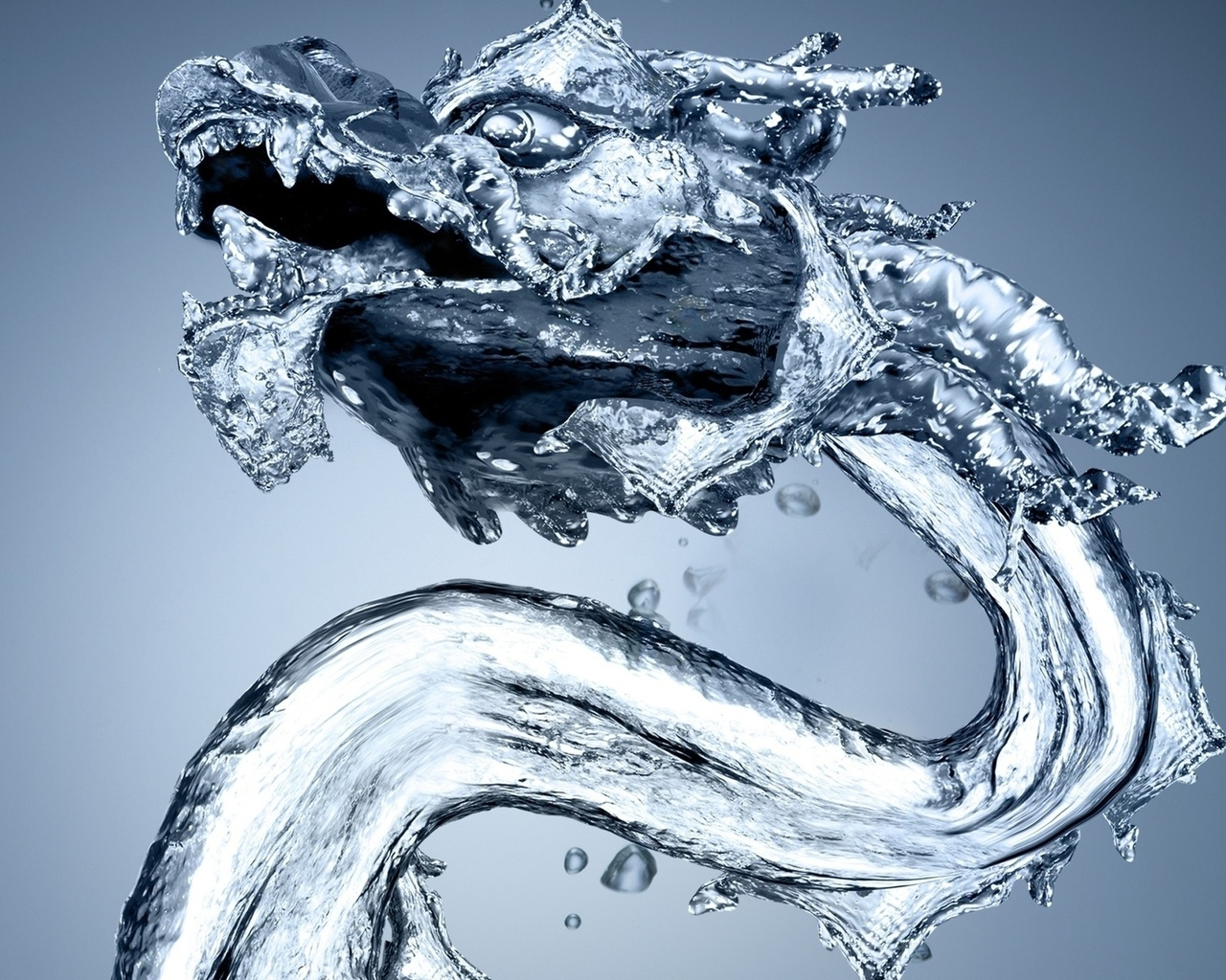Water Dragon for 1280 x 1024 resolution