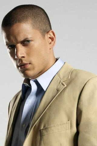 Wentworth Miller Photo for 320 x 480 iPhone resolution