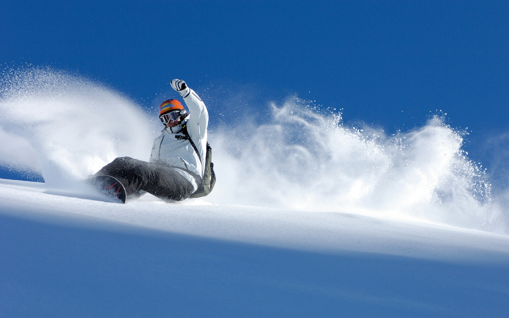 Winter Snowboarding Sport for 1680 x 1050 widescreen resolution