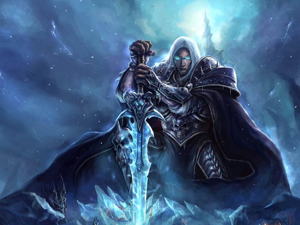 World of Warcraft Lich King Art for 1024 x 768 resolution