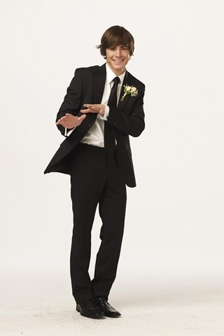 Zac Efron Men Suit for 320 x 480 iPhone resolution